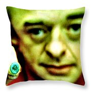 Don't Take The Ring Laura Throw Pillow