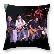 Doobie Brothers Throw Pillow