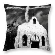 Double Cross Throw Pillow
