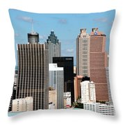 Downtown Atlanta Throw Pillow