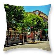 Downtown Pullman Washington Throw Pillow