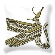 Dragon - Demon Of Ancient Egypt Throw Pillow
