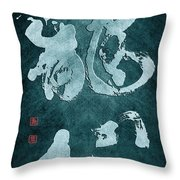 Dragon Heart Throw Pillow