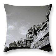Dramatic Borobudur Throw Pillow