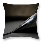 Drawing The Line Throw Pillow