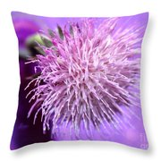 Dream In Violet Throw Pillow