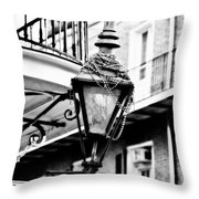 Dressed For The Party- Bw Throw Pillow