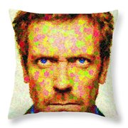 Dr. House - Maple Leaves Throw Pillow