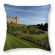 Drumlanrig Castle Throw Pillow