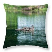 Duck Call Throw Pillow