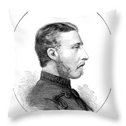 Duke Of Connaught (1850-1942) Throw Pillow