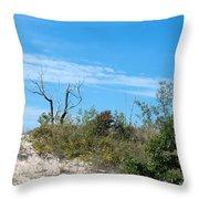 Dune Tree Throw Pillow