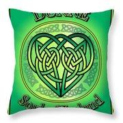 Dunne Soul Of Ireland Throw Pillow