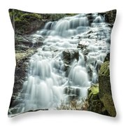 Eagle Falls Lake Tahoe Throw Pillow