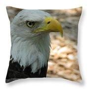 Eagle 1 Throw Pillow