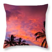 Easter Island Sunrise 2 Throw Pillow