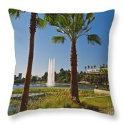 Echo Park L A  Throw Pillow