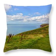 Edge Of The World Throw Pillow by Jeremy Hayden