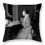 Edith Roosevelt (1861-1948) Throw Pillow
