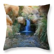 Eternal Youth Throw Pillow