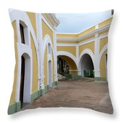 El Morro Historical Site Throw Pillow