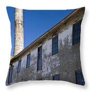 Electrical Repair Shop Alcatraz Island Throw Pillow