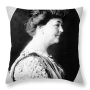 Ellen Louise Axson Wilson (1860-1914) Throw Pillow