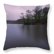 Emerging Light Throw Pillow