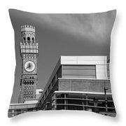 Emerson Bromo-seltzer Tower Throw Pillow