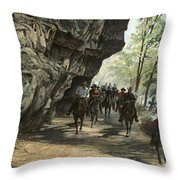 Eminence Trail Ride Throw Pillow