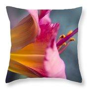 Enchanting Florals Throw Pillow