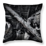 Entrenched Throw Pillow