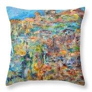 Escarpment Throw Pillow