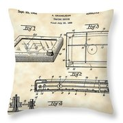 Etch A Sketch Patent 1959 - Vintage Throw Pillow