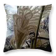Etched Throw Pillow