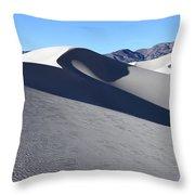 Eureka Dunes Throw Pillow