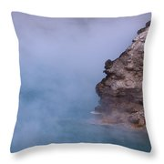 Excelsior Geyser Crater Throw Pillow