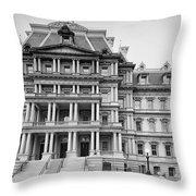Executive Office Building Throw Pillow