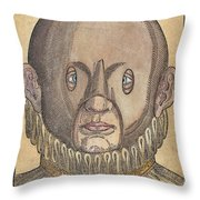 Eye Treatment, 1583 Throw Pillow