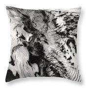Eyjafjallajokull And The Glacier Throw Pillow