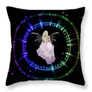 Fairy Portal Throw Pillow