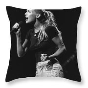 Faith Hill Throw Pillow