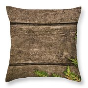 Fall Background Throw Pillow