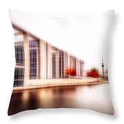 Fall In The City Throw Pillow