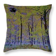 Fantasy Forest Art Throw Pillow