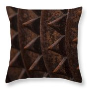 Farm Equipment Abstracts Throw Pillow