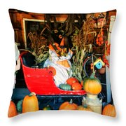 Farm Stand Throw Pillow
