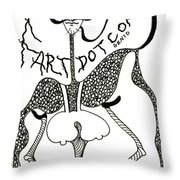 Fart Throw Pillow