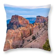 Farview Point At Bryce Canyon Throw Pillow