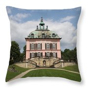 Fasanen Schloesschen - Germany    Pheasant Palace  Throw Pillow